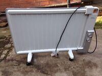 ex display challenge panel oil filed radiator heater Only £25 good bargain