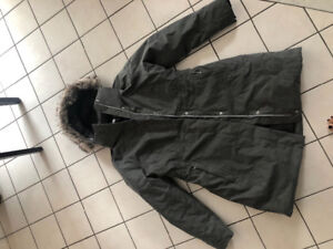The North Face Women's XL Arctic Parka II Jacket in Heather Grey