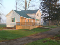 Farm house for Rent 5 min west of strathroy $1200