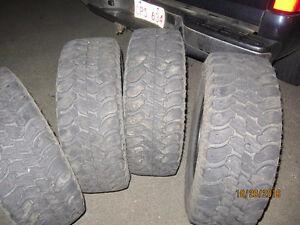 4 - LT 275/65R18 Good Year Wrangler tires