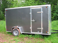 Empty 12 foot cargo trailer going to Montreal and Toronto