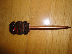 Collectible souvenir Toronto letter opener brand new