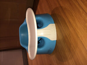 Bumbo chair with removable tray