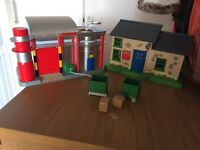 Post man pat play houses and accessories