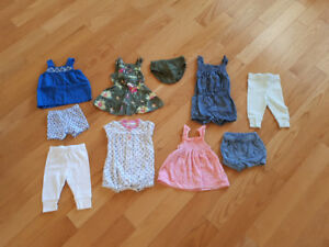 Baby Girl Summer Clothes - 3 Months