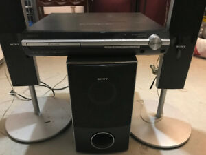 SONY Home Theater System with Surround Sound + 5 Disc Changer