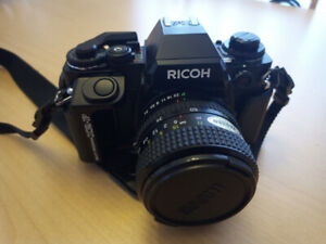 Ricoh XR-P, Multi Program film Camera, 35-70mm Lens, 260P flash