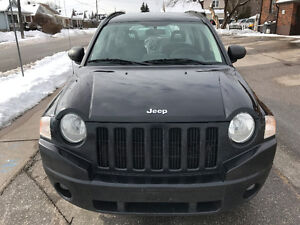 2008 Jeep Compass Sport SUV, Remote Starter Only 145000 Km