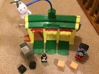 Thomas Tidmouth Shed playset with sounds