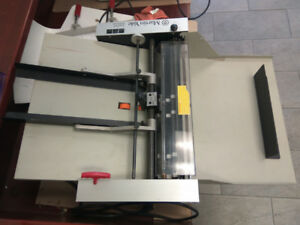 Used Auto-Perforator Machine for Paper in good condition.