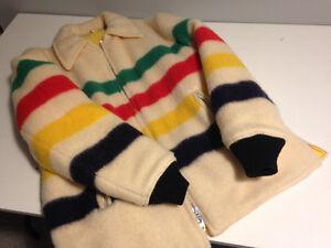 Vintage Hudson Bay Reversible Coat $230