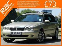 2005 Jaguar X-TYPE 2.0D Turbo Diesel S 5 Speed Estate Climate Control Parking Se