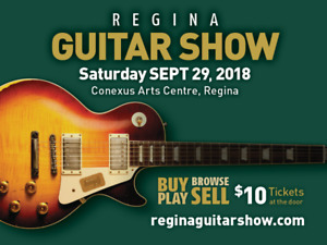 Regina Guitar Show, Saturday September 29th!
