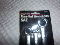 Flare Nut Wrench Set (used once)