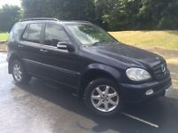2003 MERCEDES M CLASS ML 270 CDI AUTOMATIC # 5 seater # Full cream leather # service History
