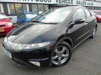 2006 Honda Civic 1.8i-VTEC ES - Black - 12 months MOT + Platinum Warranty!
