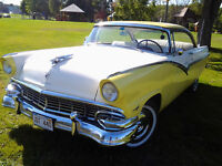 SOLD!!!   THANKS!!!1956 FORD FAIRLANE 2 DR HARD TOP