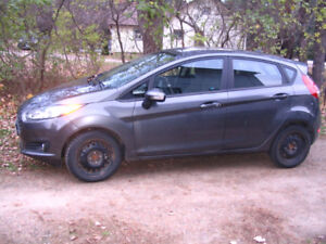 Low mileage (17,140 km) 2015 Ford Fiesta 4 dr. for sale