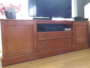 Meuble de salon pour télévision,
