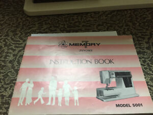 For sale JANOME Memory 7 Model 5001
