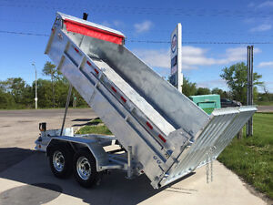 DUMP TRAILER COMMANDO SERIES 712 GALVANIZED