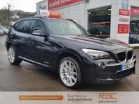 BMW X1 XDRIVE20D M SPORT, Black, Auto, Diesel, 2012