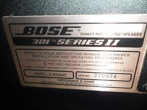 Vintage BOSE 301 , Series 2 , Speakers $200. Prince George British Columbia image 6