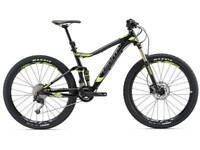 Giant stance 2 2018 mountain bike £1400 new