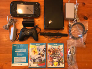 Wii U Gaming Bundle - games, extra controller and all cables!