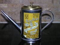 Luca Toscana Olive Oil Can With Spout & Lid Italy