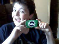 LIMITED EDITION Empty Pack of Gum!!! \ (•◡•) /