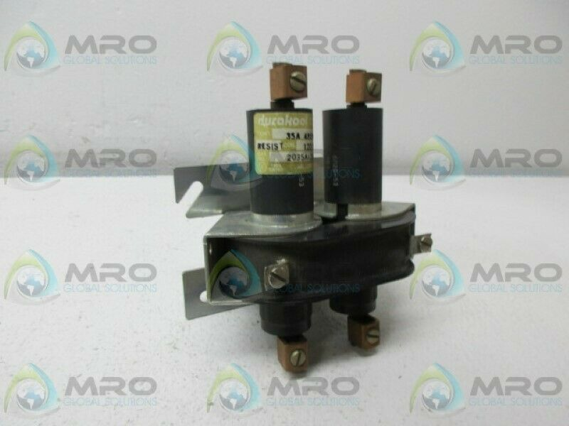 DURAKOOL 2035A120AC CONTACTOR RELAY 120V *USED*