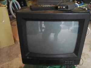 "14"" TV with remote and RCA adaptor Peterborough Peterborough Area image 1"