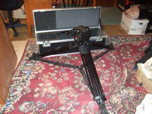 Film, Video Heavy Duty Tri-pod & Case