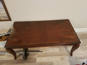 Used couches and coffee table set