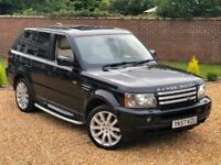 2007 57, Land Rover Range Rover Sport 3.6TD V8 auto HSE + 1 PREVIOUS OWNER