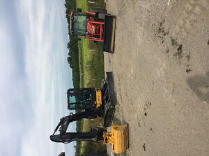 For hire 50g mini excavator, dk 45 compact tractor, cx160 case