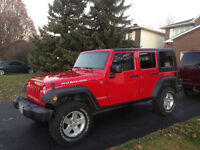2008 Jeep Wrangler Rare Rubicon low km only 115000