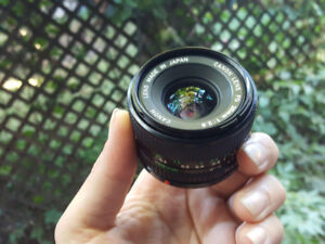 Canon FD 28 mm f 2.8 manual focus wide angle lens  mint