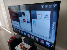 """47"""" LG Semi-Smart 3D TV, Surround Sound and DVDs."""