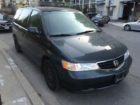 2004 Honda Odyssey one owner!! Certified E-tested!!!