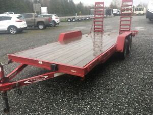 2016 Quality Trailer 18' Car Hauler SOLD PENDING PICK UP
