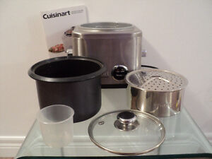 CUISINART RICE COOKER WITH INSTRUCTION & RECIPE BOOKLET-LIKE NEW Cornwall Ontario image 3