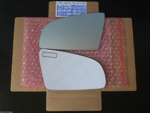 506LF - Audi A3 A4 A6 RS4 S4 S6 Mirror Glass Driver Side