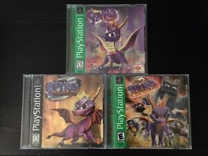 Spyro Trilogy for PS1