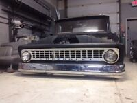 1963 Chevy C10 short box lowrider project
