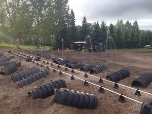 Water/Septic installs,Backhoe/Trackhoe services,Cistern cleaning Edmonton Edmonton Area image 1