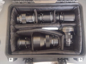 Zeiss ZF Prime Lens Kit (6 lenses for Nikon) + Pelican Case