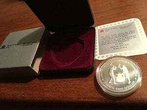 ROYAL CANADIAN MINT MONNAIE ROYALE CANADIENNE FORGES ST-MAURICE