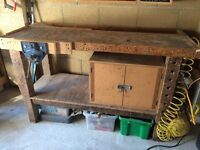 Cabinet makers work bench